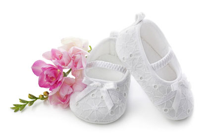 Babies White Walking Shoes